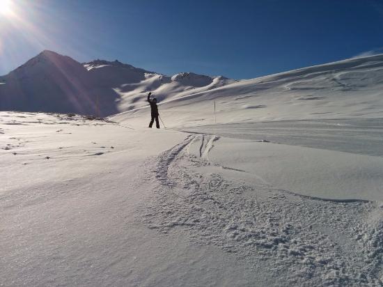Termignon, Frankrike: the ski was great!