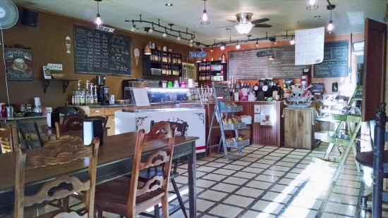 Versailles, IN: G. H. Coffee Company is homey and comfortable.