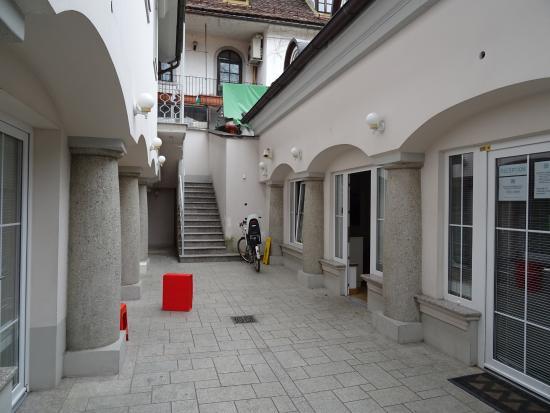 H2ostel: Innenhof