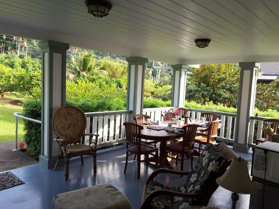 The Old Hawaiian B&B: Room with a view