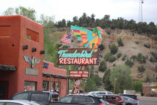 Mount Carmel, Utah: Restaurant von außen