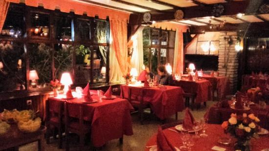 La Pergola: La salle de restaurant