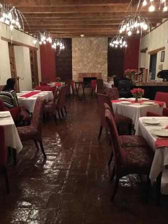 Casa del Alma Hotel Boutique & Spa: lovely restaurant, the food very good