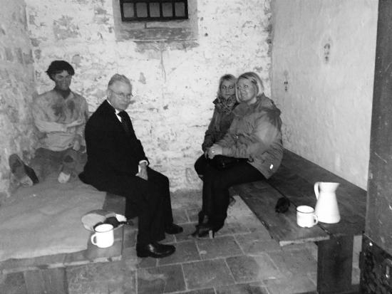 Creepy Carmarthen - The Spooky Town Tour: In the police cells at Camarthen