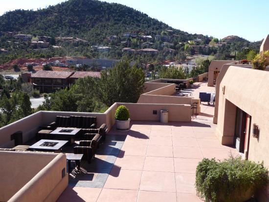 view from the top floor terrace picture of best western plus inn rh tripadvisor com