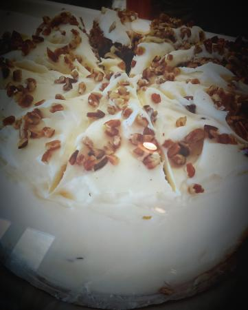 Harrodsburg, KY: Carrot Cake made by our pastry chef.