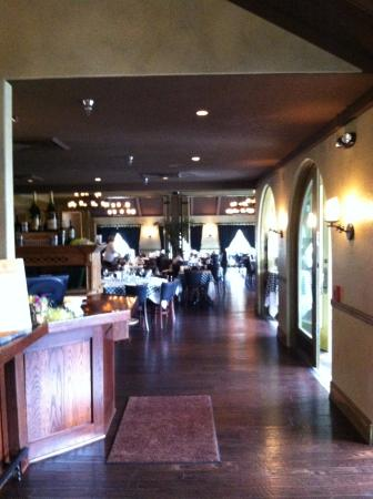 View into dining area before brunch started - Picture of Mr