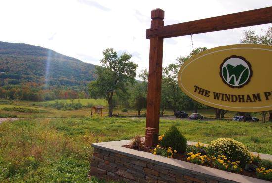 Windham, estado de Nueva York: park entrance