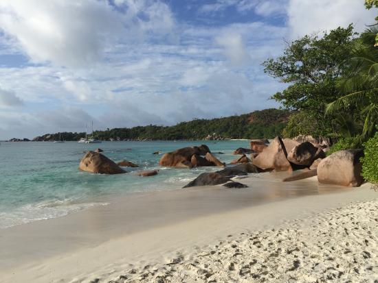 Praslin Island, Seychelles: Spiaggia di Anse Lazio
