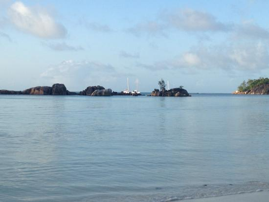 Praslin Island, Seychelles: Spiaggia