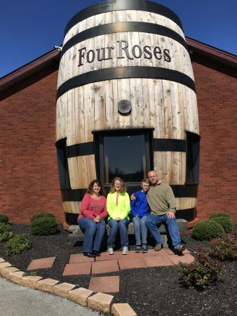 Coxs Creek, KY: Four Roses Bourbon - Warehouse and Bottling Facility