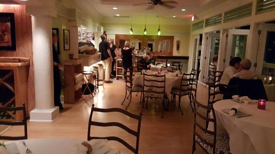 Backyard Restaurant Key West small, intimate upstairs cafe' dining room - picture of louie's