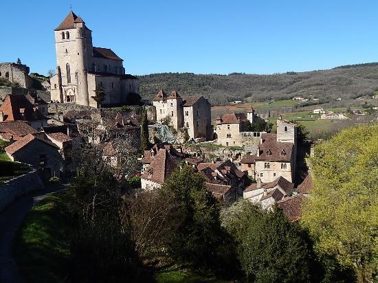 Saint cirq lapopie le village photo de office de - Office de tourisme saint cirq lapopie ...