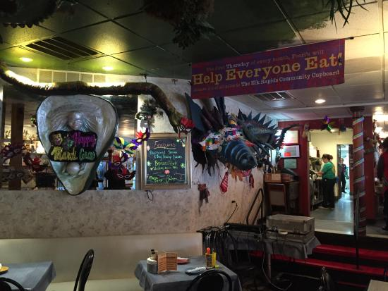 Elk Rapids, MI: Inside wild decor