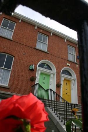 St. Judes welcoming Green Dublin Door.