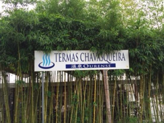 Termas A Chavasqueira: Signage and flimsy bamboo hide the A+ experience beyond