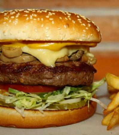 Atarfe, Hiszpania: Hamburguesa de Angus