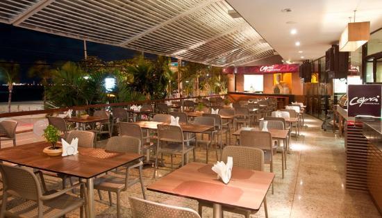 Foto de ponta mar hotel fortaleza a mesas do restaurante for Mesas de restaurante precios