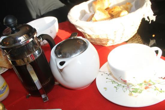Restigne, Francia: le petit déj est un beau moment !!!!!!copieux et de qualité !!!