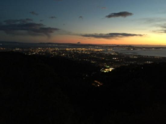 Grizzly Peak: View at sunset 4