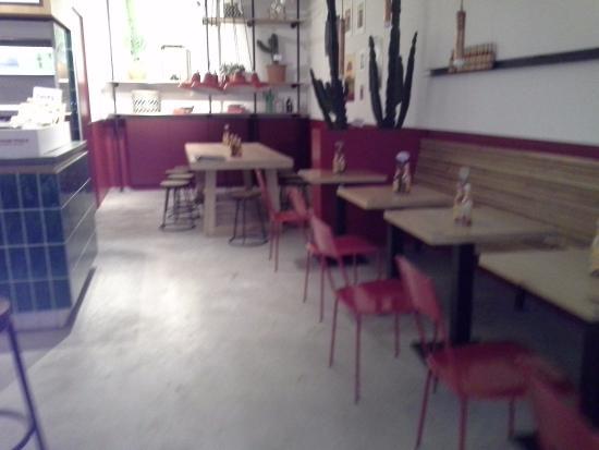 dining room with a stark warehouse feeling picture of salsa shop rh tripadvisor com