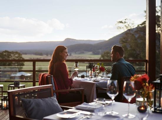 Emirates One&Only Wolgan Valley: Wolgan Dining Room Verandah