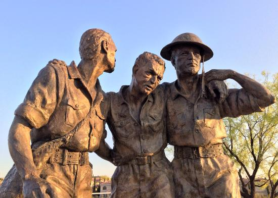 Bataan Death March Memorial @ Las Cruces Veterans Memorial Park