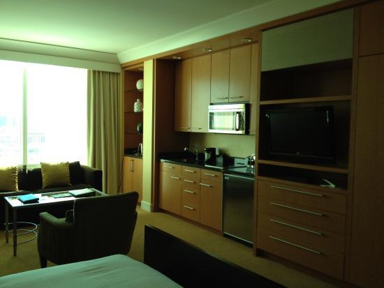 kitchenette in deluxe superior room picture of trump international rh tripadvisor com sg