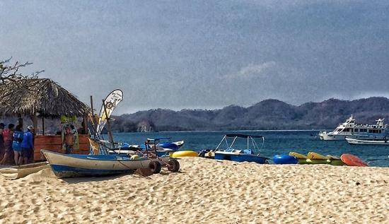 Zuma Tours: Isla Tortuga beach