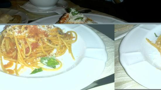 ... Hotel Terme Villa Teresa: Spaghetti al filetto di pomodoro dello Chef