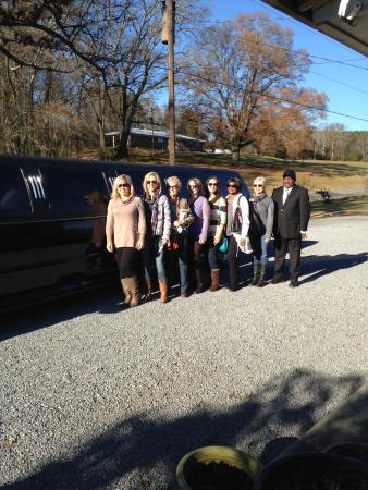 Attalla, AL: Hiring a limo to follow the North Alabama Wine Trail is a popular way to explore North Alabama W