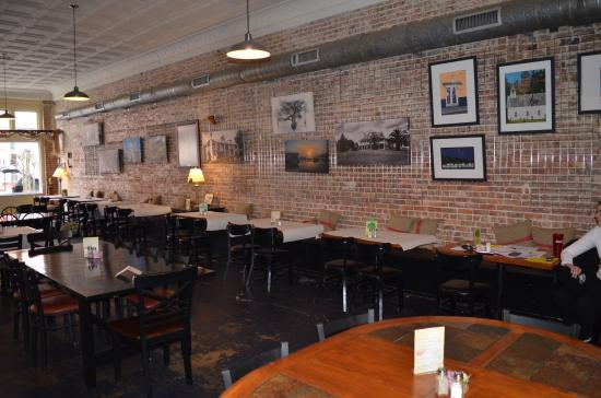Rising Sun Bistro And Market Brick Walls Tin Ceilings 100 Years Old