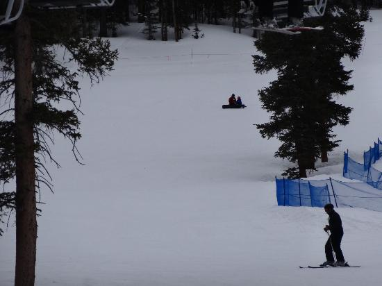 Georgetown, CO: Excellent time at Loveland, with my son who enjoyed the ski school and my wife skiing for her fi