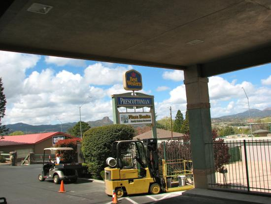 Plaza Bonita mexican: Along Gurley