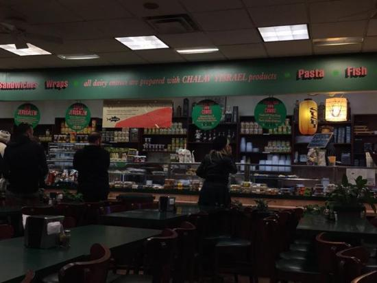 Livingston, Nueva Jersey: Counter and dining area