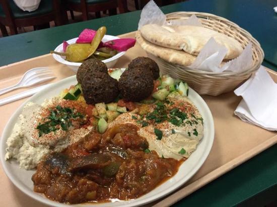 Livingston, Nueva Jersey: old Jerusalem platter