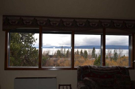 Bigfork, MT: Bedroom with a view
