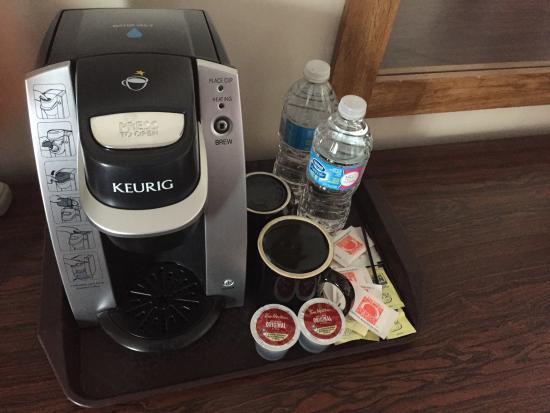 Walkerton, Canada: In room coffee