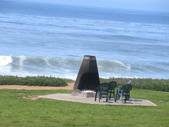 Fire Area Pacific Ocean Views Best Western Plus Cavalier Oceanfront Resort San Simeon