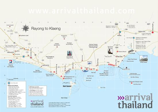 map of rayong and ban phe Picture of Ban Phe Phe TripAdvisor