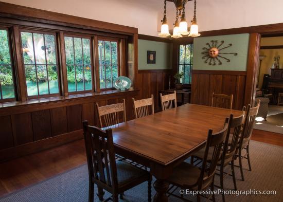 dining room picture of sand rock farm bed and breakfast aptos rh tripadvisor com