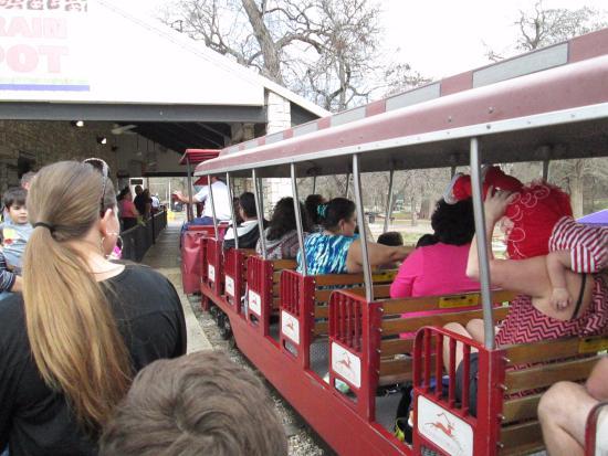 San Antonio Zoo Eagle Train: Ready to get on board