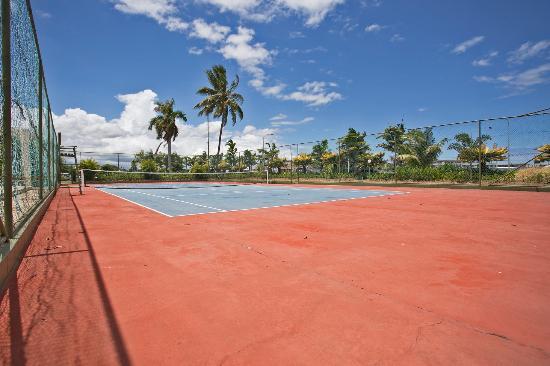Fiji Gateway Hotel: Tennis Court