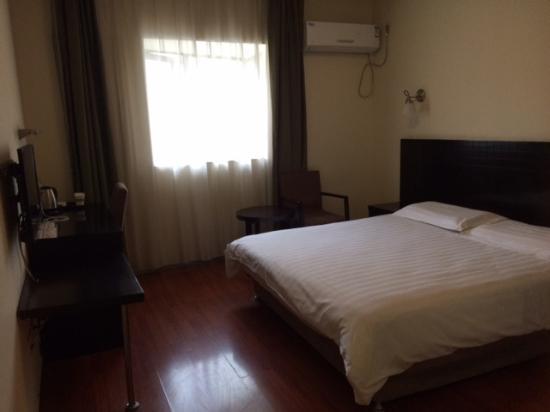 Motel 168 Wuhan Dingziqiao: ベッドは広い