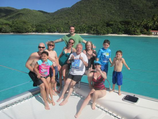 Singing Dog Sailing Day Tours: Three generations of our family all had a fantastic day sailing and snorkelling on the Singing D
