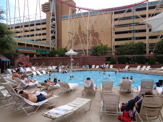 Pool Area Picture Of New York New York Hotel And Casino Las Vegas Tripadvisor