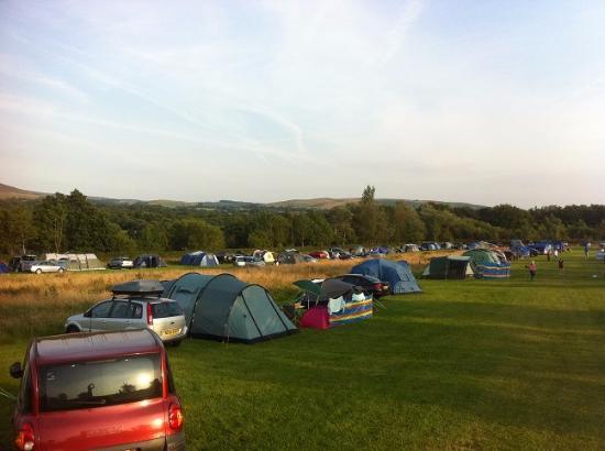 Bay Horse, UK: Lower tent field