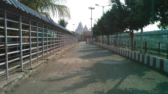 Hingoli, India: temple area
