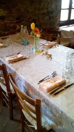 tavola apparecchiata di primavera - picture of la cucina del sole ... - La Cucina Del Sole
