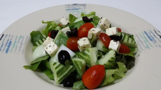 Mango Tree Restaurant : Greek salad